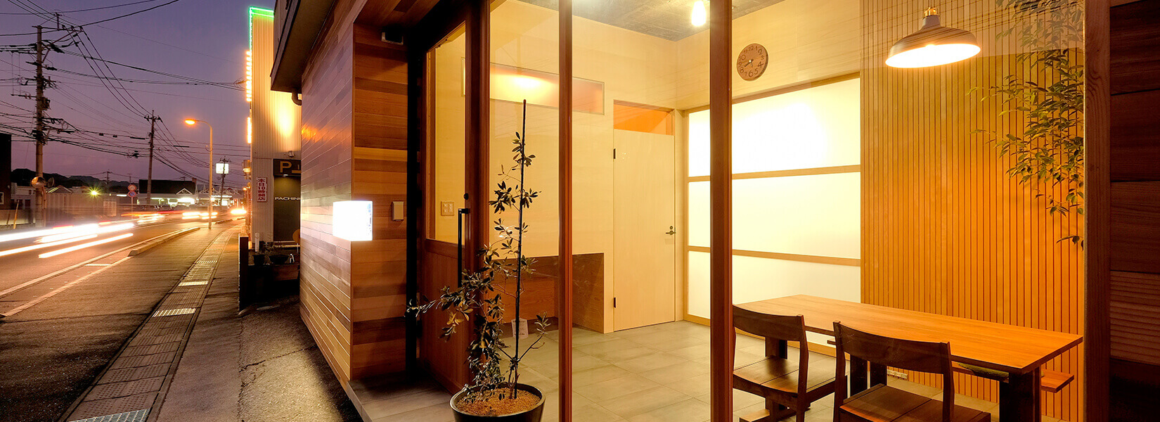 青空木材株式会社 事務所