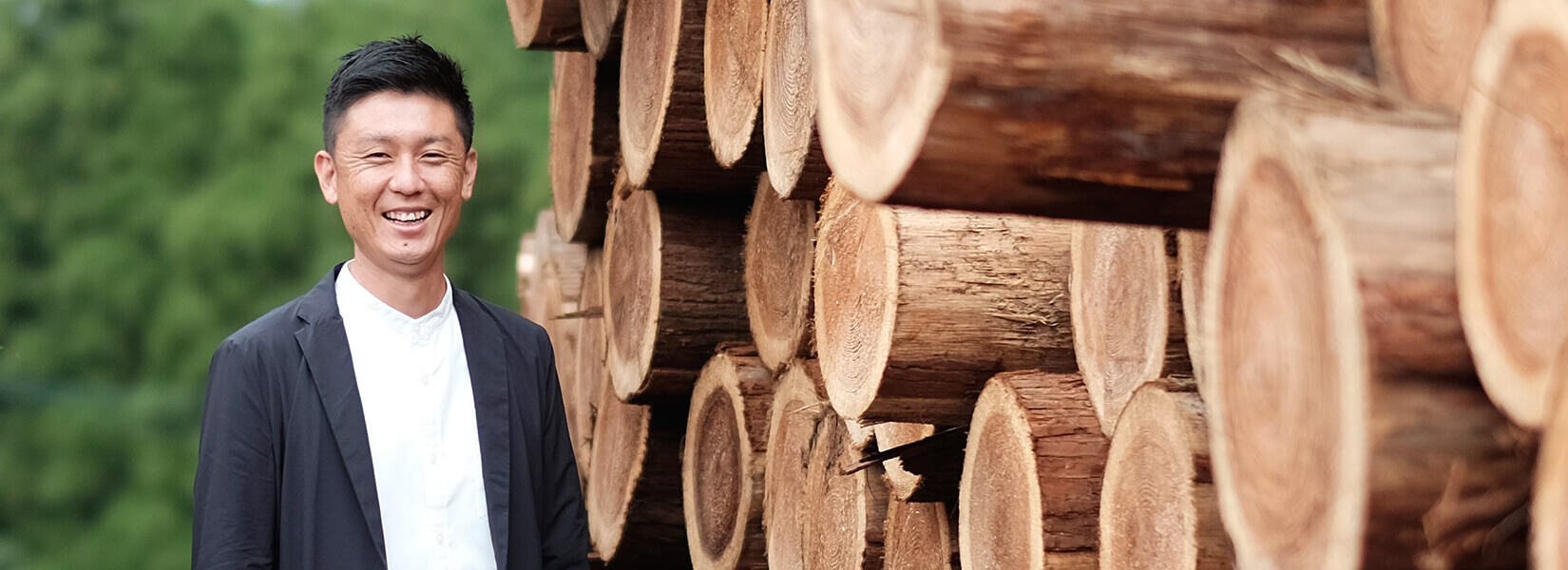 青空木材株式会社 代表取締役 佐々木 進
